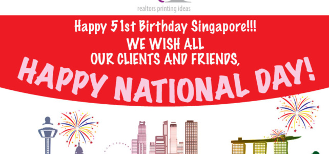 Happy 51st Birthday Singapore!!!